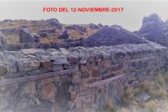 Vista de los muros